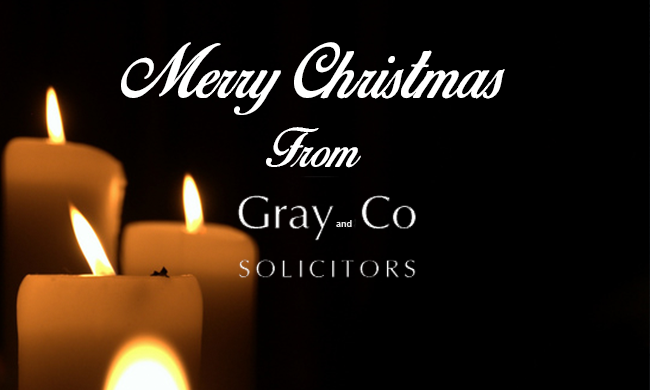 Merry Christmas from Gray & Co! Solicitors!!